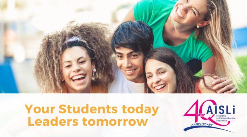"Presentazione ""Your students today…leaders tomorrow"" – AGM AISLi 2019"