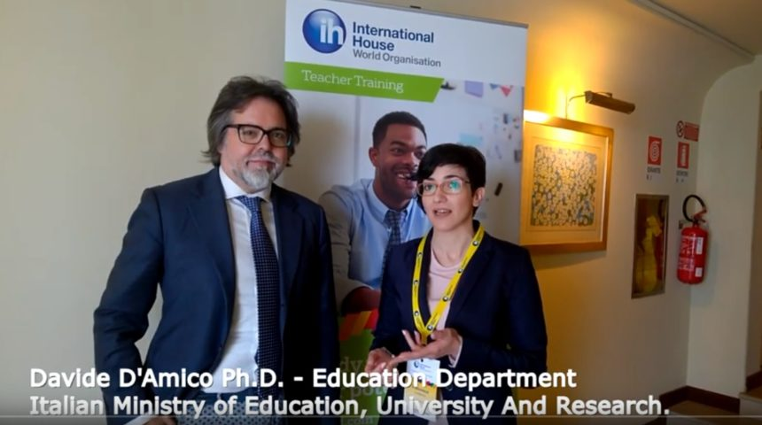 Davide D'Amico Ph.D from the Education Department of Italian Ministry of Education, University and Research